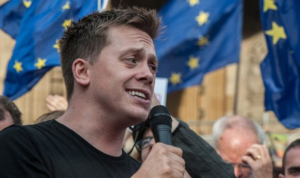 Brexit news Owen Jones asked supporters to take to the streets Image GETTY