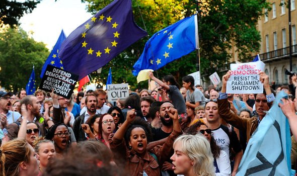 Brexit news Protests are set to take place throughout the country tomorrow Image GETTY