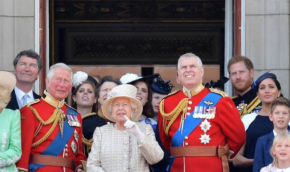 Charles and Meghan at Trooping the Colour Image GETTY