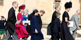 Charles and Meghan both attended Princess Eugenies wedding Image GETTY