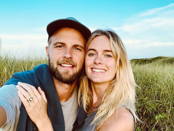 Cressida Bonas engagement She become engaged on a holiday to Nantucket in the US yesterday Image INSTAGRAM HARRYWENT