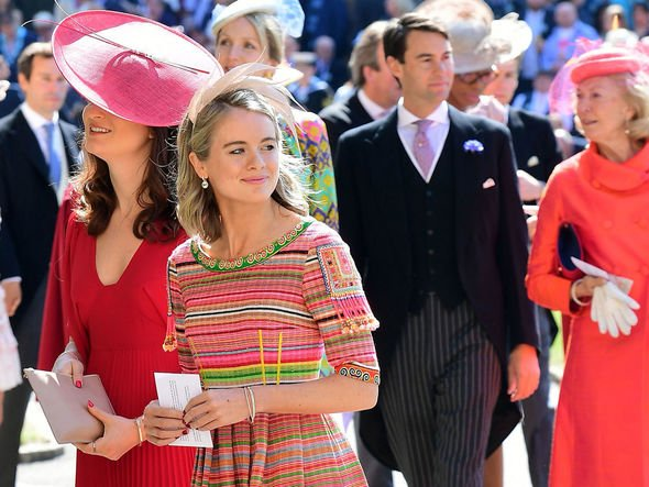 Cressida Bonas was invited to Prince Harry and Meghan Markles wedding Image Getty