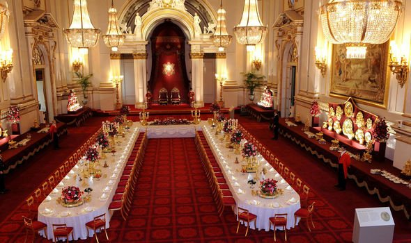 Drawing Room The ballroom is a sight to behold Image GETTY