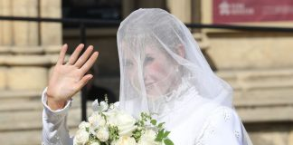 Ellie Gouldings wedding dress