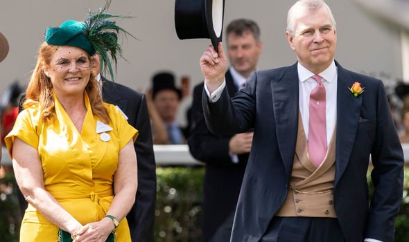 Fergie and Andrew have gone to Royal Ascot together for the last years Image Getty