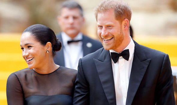 Harry reportedly joins wife Meghan Markle for regular pedicures worth £ a time Image GETTY