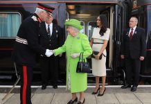 Inside the Queens royal train – see how the monarch travels in style Photo C GETTY IMAGES