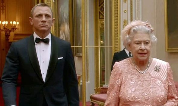 James Bond took the Queen to the opening ceremony in a famous video during the Olympic Games Image GETTY