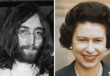 John Lennon returned his MBE in Image GETTY