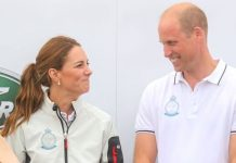 Kate Duchess of Cambridge is very competitive when it comes to sports Rieden claimed Image GETTY