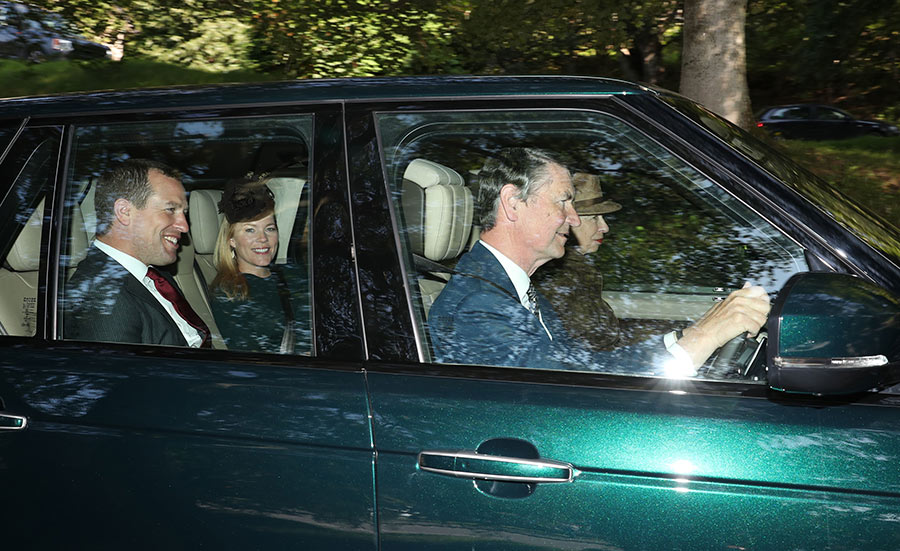 Kate Middleton and Prince William accompany the Queen to church ALL the pictures