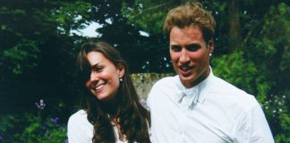 Kate Middleton and Prince William in their univeristy days Image Getty