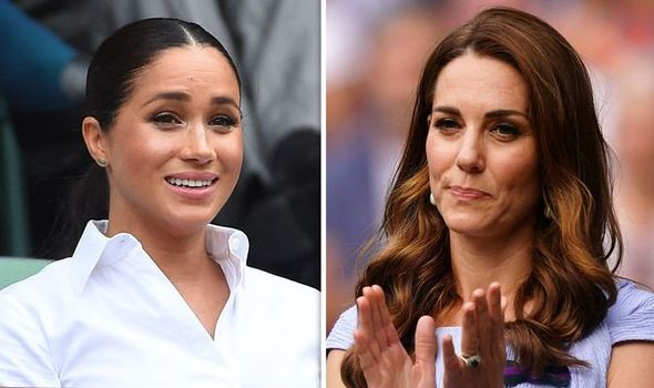 Kate Middleton news Duchess savaged following Meghan Markle post Image PA ABACA