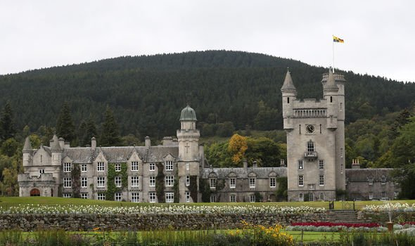 Kate Middleton news One hunt took place at the Queens Scottish residence Balmoral Castle Image GETTY