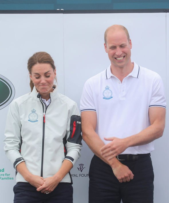 Kate Middleton news Prince William beaming at his win while wife Kate looks saddened Image GETTY
