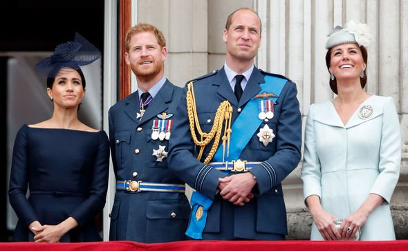 Kate Middleton pregnant Harry revealed he and Meghan only plan to have two children Image GETTY