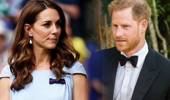 Kate Middleton snub Kate and Prince Harrys relationship has changed Image GETTY