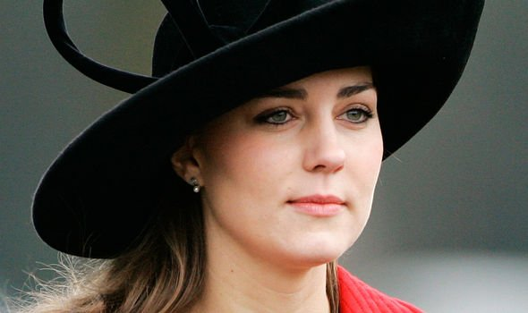 Kate Middleton was only given girlfriend status in Image GETTY