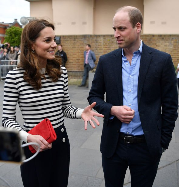 Kate and Prince William are facing each other next Friday Image GETTY
