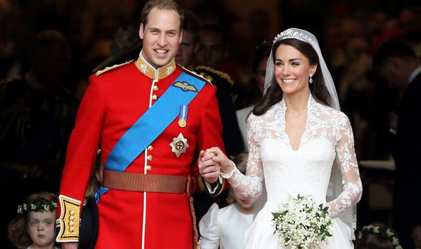 Kate and William got married on April Image GETTY