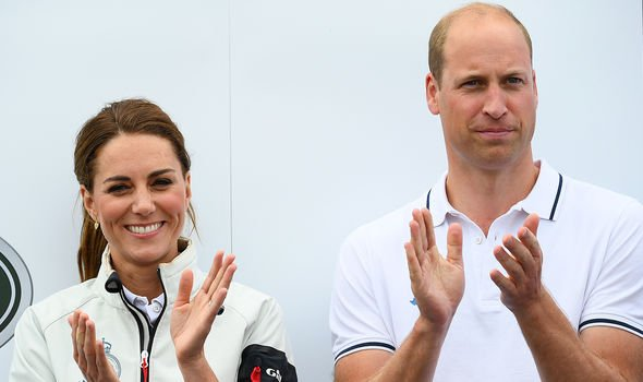 Kate and William have been married for just over eight years Image GETTY
