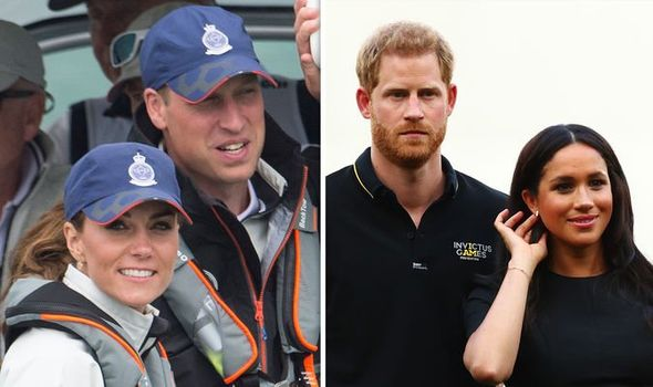 Kate and William have come under fire for making Meghan and Harry look bad Image GETTY