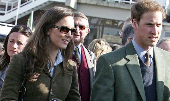 Kate and William split up in Image GETTY