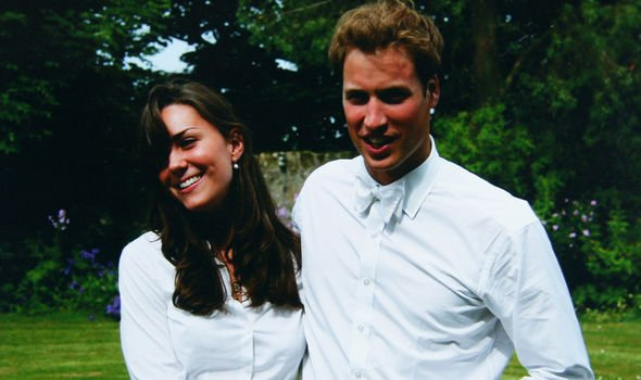 Kate and William the day of their graduation in Image GETTY