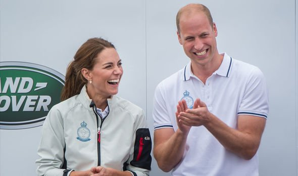 Kate and Williams latest royal outing together on the Isle of Wight Image Getty