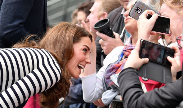 Kate has been hailed Queen of peoples heart by one Instagram user Image GETTY