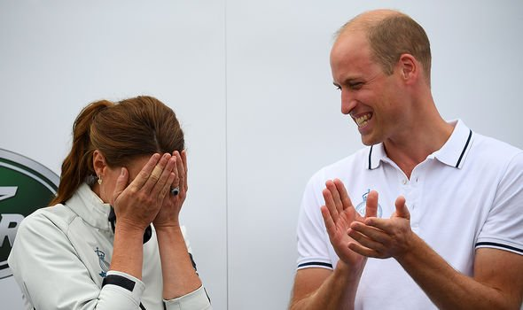 Kate signalled her disappointment at her loss by covering her face with her hands Image GETTY