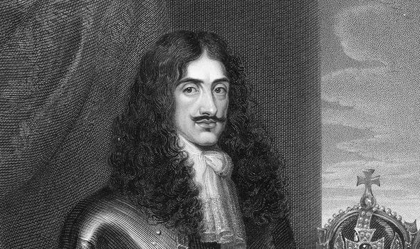 King Charles II was the first monarch after restoration Image GETTY