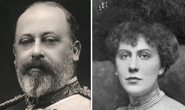 King Edward VII and Alice Keppel Image GETTY