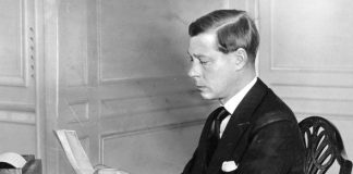 King Edward VIII delivering his abdication speech Image GETTY