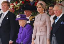 King Willem Alexander and Queen Maxima of the Netherlands were welcomed Tuesday morning by Queen Elizabeth II Photo C GETTY IMAGES