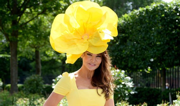 Lizzie Cundy attends Royal Ascot Image GETTY