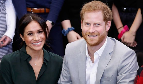 Meghan Duchess of Sussex and Prince Harry Image GETTY