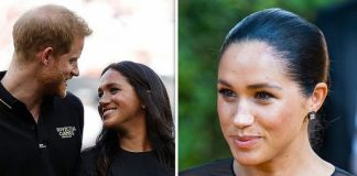 Meghan Markle's model at Madame Tussauds has been moved away from husband Prince Harry's Image GETTY