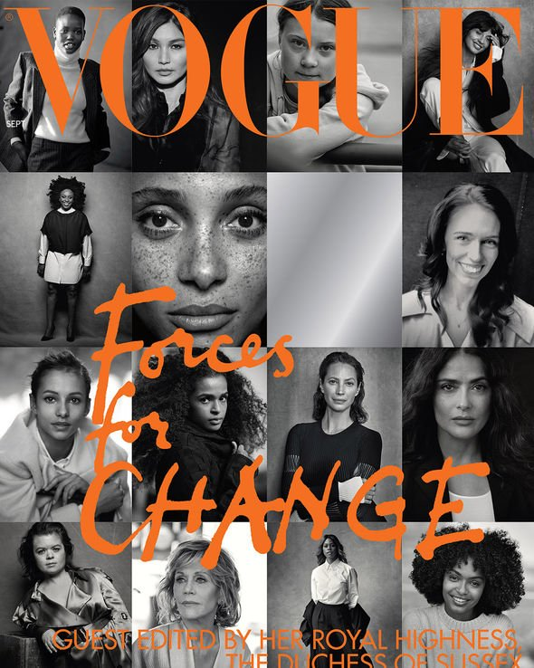 Meghan Markle The Duchess edited the September issue Image GETTY