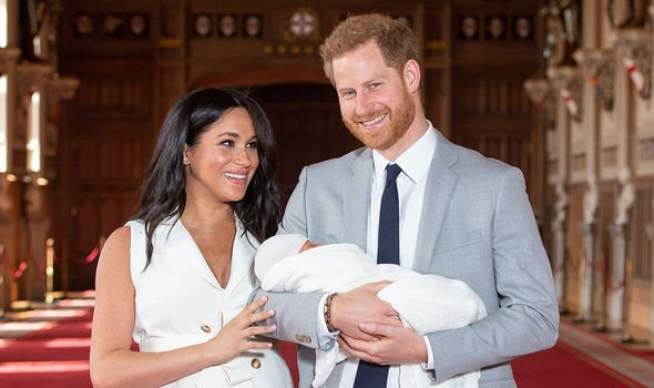 Meghan Markle and Harry jetted off to Ibiza with baby Archie for the Duchesss birthday Image GETTY