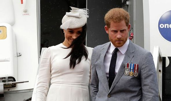 Meghan Markle and Prince Harry Image GETTY