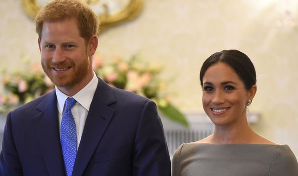 Meghan Markle and Prince Harry faced a series of resignations in the past months Image GETTY