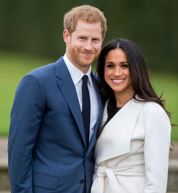 Meghan Markle and Prince Harry have been branded a modern royal couple Image Getty