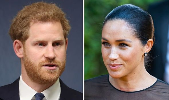 Meghan Markle and Prince Harry have been warned about keeping Archies life private Image GETTY