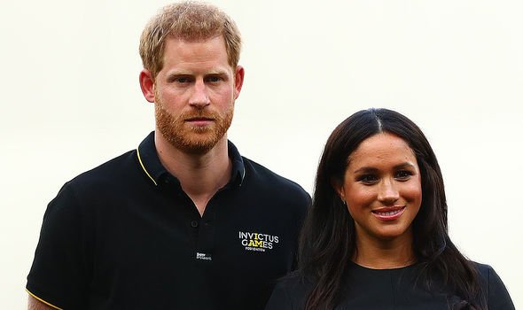 Meghan Markle and Prince Harry have both spoken out about climate change issues Image GETTY