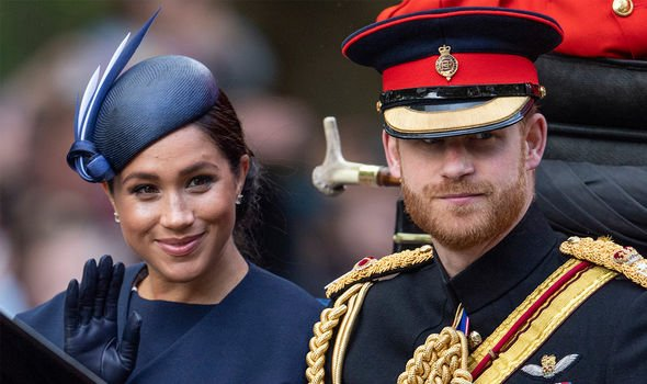 Meghan Markle and Prince Harry have come under criticism over the flight record Image GETTY