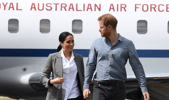 Meghan Markle and Prince Harry have urged people to become more environmentally conscious Image GETTY