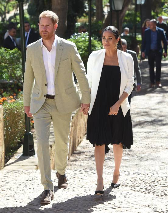Meghan Markle and Prince Harry travelled to Nice in the South of France Photo C GETTY IMAGES