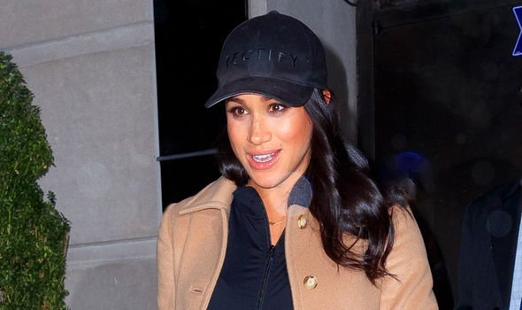 Meghan Markle left New York using George and Amal Clooneys private jet Image GETTY
