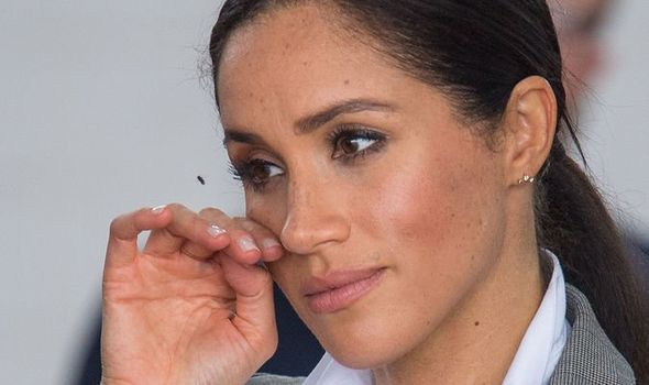 Meghan Markle must come to terms with the fact that she is a royal a PR expert said Image GETTY